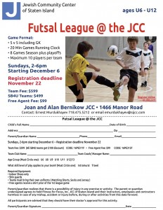 Futsal League 1015 flyer #3