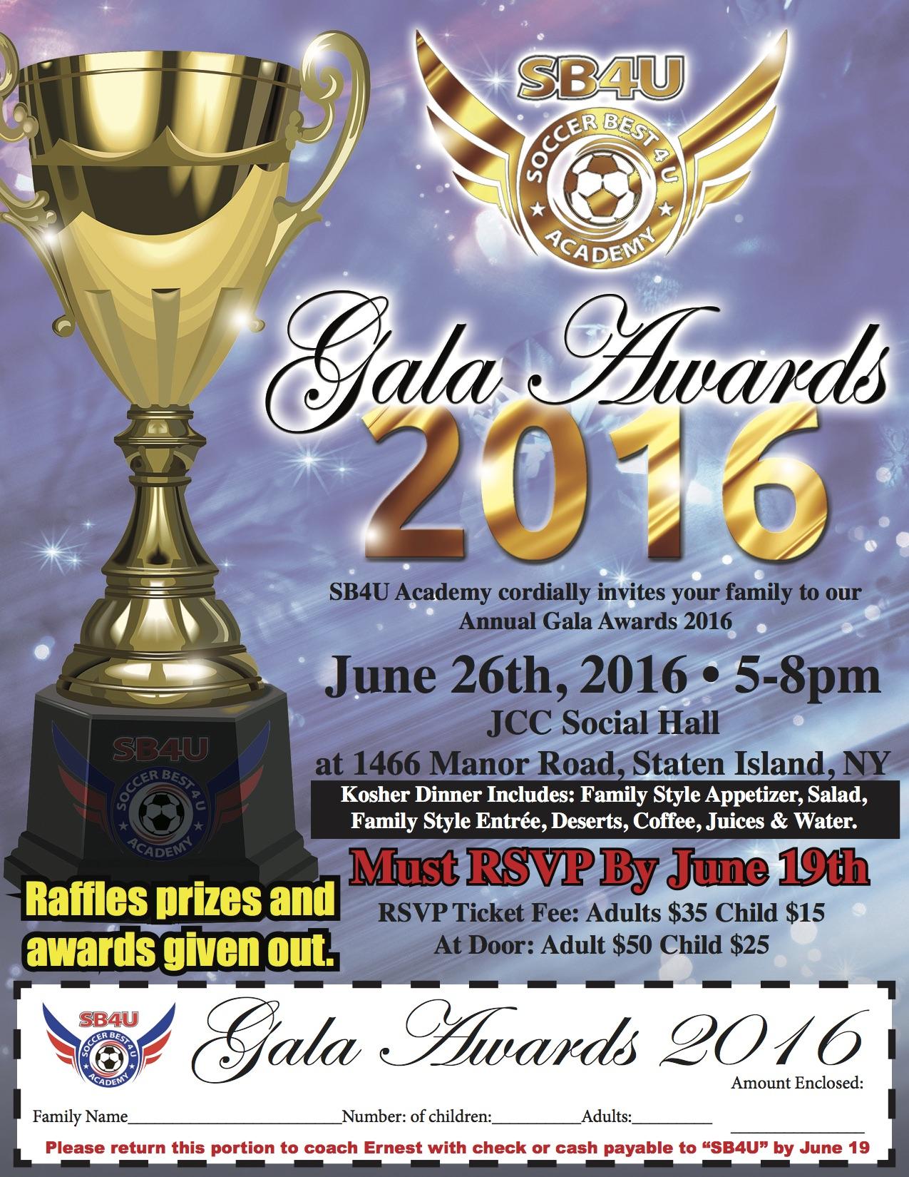 Gala Awards 2016