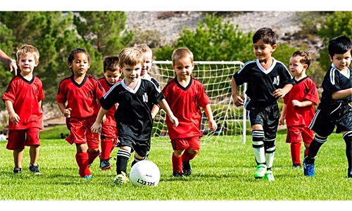 toddlers recreational soccer
