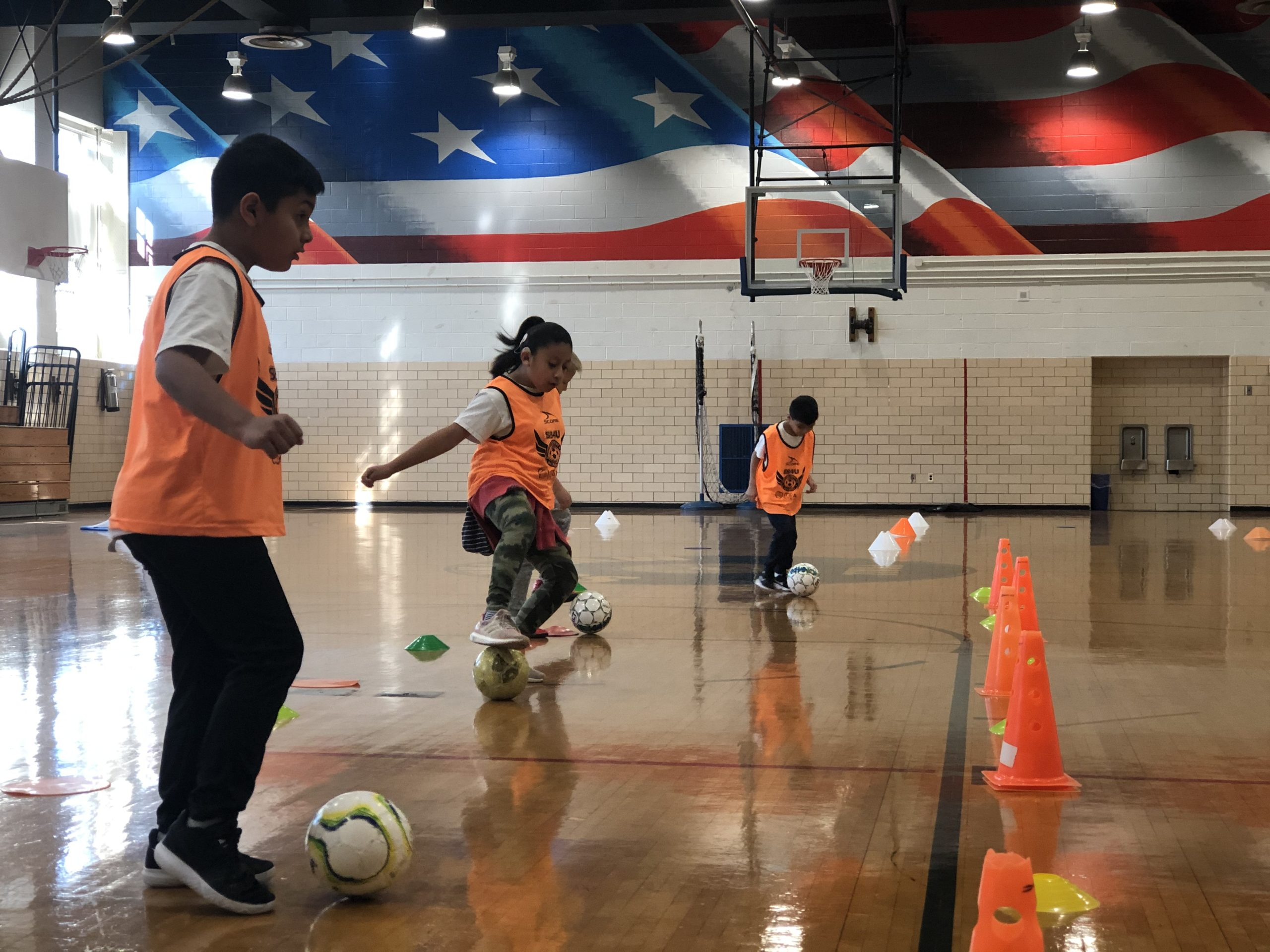 indoor soccer skills