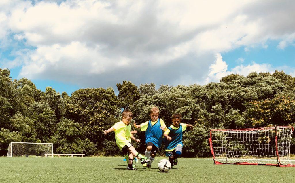 2v1 soccer practice